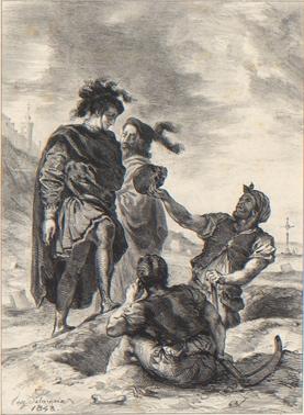 Delacroix Hamlet 12m